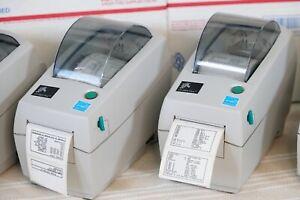Zebra LP2824 Plus Direct Thermal Label Printer USB +Serial Same Day Shipping