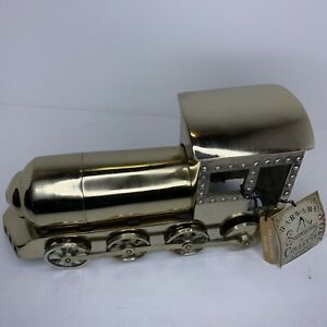 BARWARE ENTERTAINING Collection Metal TRAIN ENGINE MARTINI COCKTAIL SHAKER