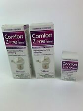 Lot of 2 Comfort Zone Calming Diffuser Kit White Box Single Diffuser with refill