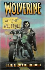 Wolverine Vol 1: The Brotherhood by Rucka & Robertson 2005 TPB Marvel OOP