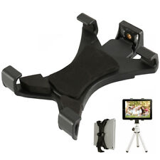 TABLET TRIPOD MOUNT ADAPTER CLAMP HOLDER FOR iPAD 2 3 4 AIR MINI BLUETOOTH w6