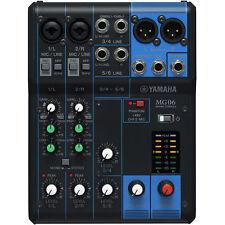 Yamaha mg06 - 6 canal Studio mesa de mezclas mezclador pa escenario-OVP & nuevo