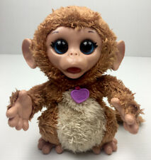 FurReal Friends Cuddles My Giggly Monkey 2013 Hasbro Interactive Pet Toy Working