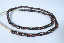 Alte Glasperlen Venedig Murano AP46 Old Venetian Striped Trade Beads Afrozip