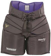 "New Vaughn 1000 V6 Sr. goalie pants black senior XL 42"" Velocity ice hockey goal"