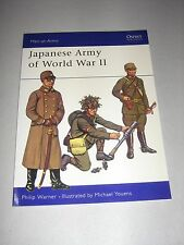 Men-At-Arms: Japanese Army of World War II by Philip Warner (1973, Paperback)
