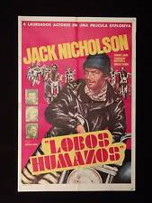 THE REBEL ROUSERS (1970) * JACK NICHOLSON * MITCHELL * ARGENTINE 1s MOVIE POSTER