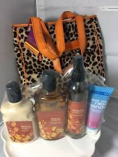 Bath & Body Works SENSUAL AMBER Body Lotion, Shower Gel & Fragrance Mist SET