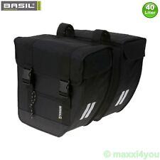 """01170412 Basil """"Tour XL"""" Fahrrad Doppeltasche Tasche Gepäckträgertasche 40 Ltr."""