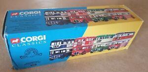 Corgi Classics 33001 Routemasters Around Britain 4 Bus Set Boxed, 1:50 scale