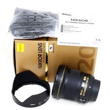 Nikon AF-S NIKKOR 20mm f/1.8G ED Lens Brand New NIB