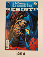 Blue Beetle Rebirth #1 Rebirth Issue VF/NM 1st Print DC