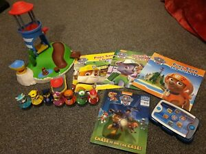 Paw Patrol Weebles Pull & Play Seal Island Playset 7 Figures rare everest bundle