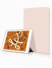 """Leather Smart Case TPU for iPad Air 3 10.5""""- Light Pink New"""