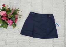 Nwt Old Navy Girls Size Xs (5)Navy Pleated School Uniform Skirt w/ Elastic Waist
