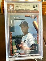 MARIANO RIVERA 1992 PROCARDS RC FT. LAUDERDALE YANKEES BECKETT BGS 8.5 NM-MT+