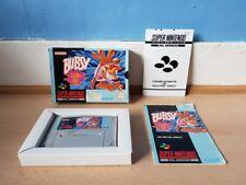 Bubsy SNES Complete Good Con