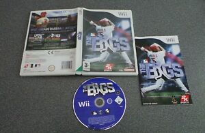 THE BIGS Wii PAL COMPLETE TESTED WORKING