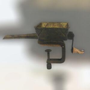 Vintage Brass Crescent Marvel USA Cigarette Tube Stuffer Rolling Machine Clamp