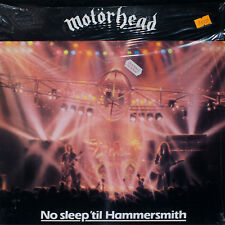 MOTORHEAD - No Sleep 'Til Hammersmith  / LP sealed