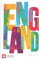 ENGLISH HERITAGE Handbook 2020/2021 including Car Park sticker (BRAND NEW)