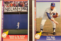 (2) 1991 Nolan Ryan Pacific Trading Baseball Cards, Comes With Free Jersey Card