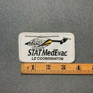 STAT MedEvac LZ Coordinator Air Ambulance Helicopter Pennsylvania PA Patch E0