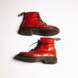 Dr. Marten 1460 Patent Leather Lace Up Boots / Size: 40