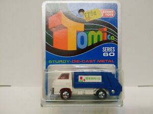 TOMICA MITSUBISHI CANTER  on Blue card MADE FOR G.J COLES  MELBOURNE AUSTRALIA