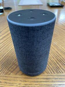 Amazon Echo (2nd Generation) Smart Assistant / Speaker - Charcoal Fabric