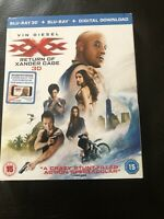xXx - The Return of Xander Cage (3D Edition with 2D Edition) Free Postage VGC