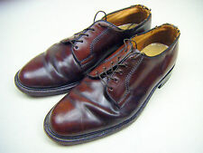 Vintage ROBLEE Whisky Color Genuine Shell Cordovan Bluchers Dress Shoes 11 D USA