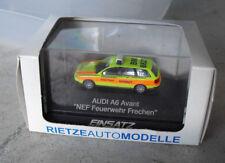 Rietze HO 1:87 Einsatz Audi A6 Avant NEF Feuerwehr Frechen Emergency Car NIP