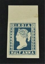 nystamps British India Stamp Mint H Proof