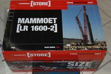 Oo NZG 843 01 LR 1600 Crawler Crane Mammoet 1:50 New Original Packaging Oo