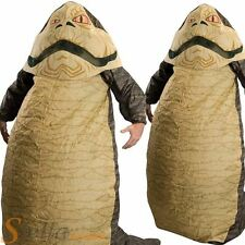 Mens Inflatable Jabba The Hutt Star Wars Halloween Fancy Dress Costume Outfit