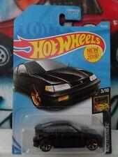Hot Wheels 1:64 Nightburnerz '88 Honda CR-X (Black)