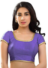 NW Polyester Silk Blouse Top Choli Dress Bollywood Traditional Saree Belly Dance