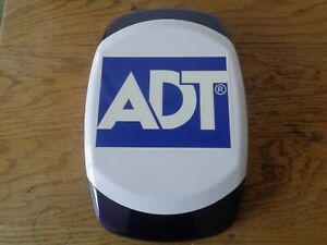 ADT dummy alarm bell box/ sounder , with LED flasher unit and batteries