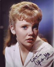 HAYLEY MILLS Signed Photo w/ Hologram COA