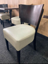 More details for leather and wooden dining chairs job lot bulk restaurant cafe