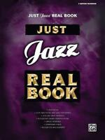 Just Jazz Real Book C Edition Fakebook by Alfred Publishing