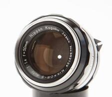 Nikon Nikkor-S 50mm F/1.4 Non Ai Lens