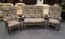 QUALITY USED 'ERCOL' 3 PIECE SUITE. (168)