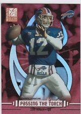 Jim Kelly 2003 Donruss Elite Trading Card, Copper, Passing the Torch 1000