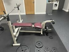 Golds Gym Multifunction Weights Bench ( Price Is For Bench Only No Bar/Weights)