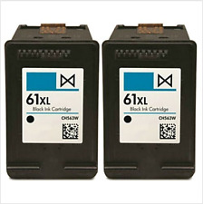 2PK HP61XL Black Ink Cartridges for HP Deskjet 1000 1050 1051 2050 ENVY 4500