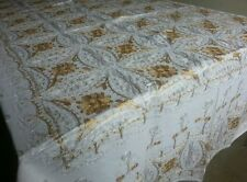 Aghabani tablecloth with Gold embroidery