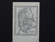 Miniature Map, c. 1850 #28 Denmark