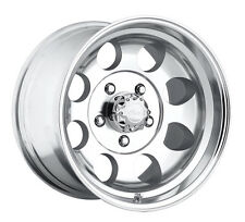 "4-NEW Pacer 164P LT Mod Polished 15x10 5x114.3/5x4.5"" -48mm Polished Wheels Rims"